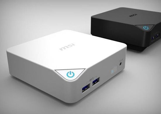 MSI announces Cubes - the mini-PC Broadwell that fits in the palm of your hand