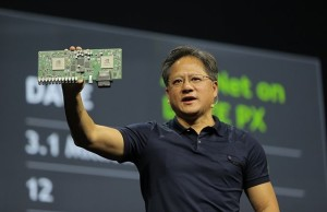 NVIDIA showed a computer for $ 10,000 for robocars