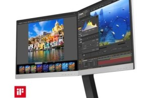 Philips has released a dual monitor with IPS matrix