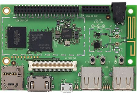 Qualcomm has introduced a new development platform DragonBoard 410c