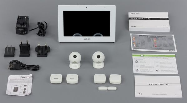 Home Automation System Archos Smart Solution For Android Based Tablet And Bluetooth Le