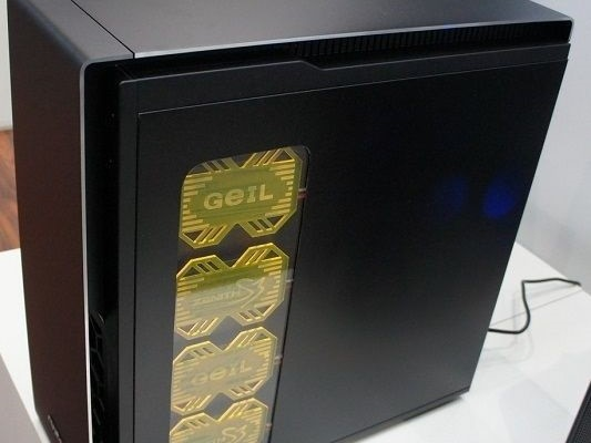 CeBIT 2015: cases and other exhibits at the stand Antec