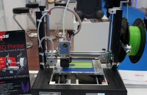 CeBIT 2015: 3D-printer on the stand inno3D