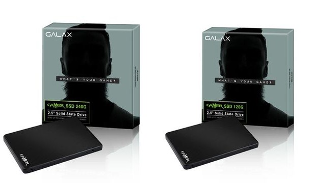 Galax Gamer SSD: SSD for gaming systems