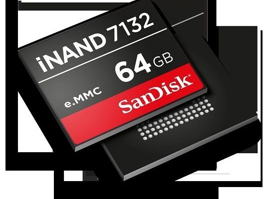 MWC 2015: iNAND-memory 4K-smartphones from SanDisk