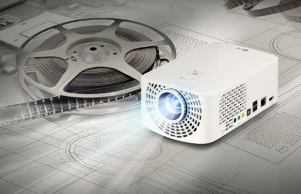 Among the new LED-projector LG Minibeam present model with TV Tuner