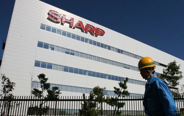Sharp can reduce 12% of staff and separate display business