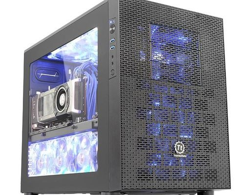 Review Thermaltake Core X2: very roomy desktop case for microATX form factor motherboards new!
