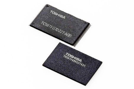 Toshiba develops the new chip memory BiCS to 48 layers