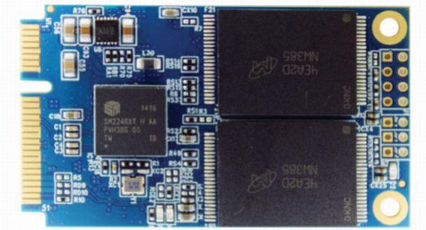 SSD Super Talent mSATA SJ2 designed for compact PCs