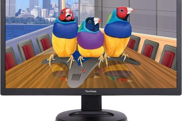 ViewSonic showed Ultra HD-monitor VG2860mhl-4K