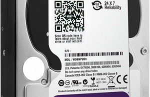 Hard Drives WD Purple NV designed for networked storage in the surveillance