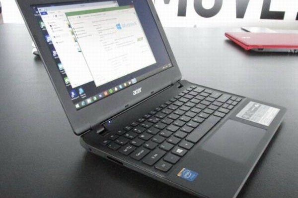 Mini laptop Acer Aspire E11 moved to the platform Intel Braswell