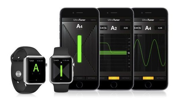 Apple Watch can help setup a guitar