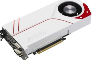 Asus is preparing a version of the GeForce GTX 970 with a white jacket cooling system