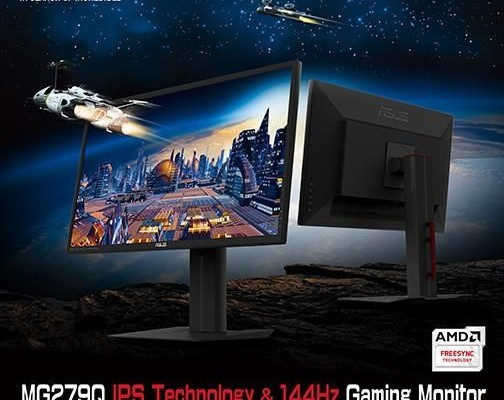 ASUS has announced the monitor MG279Q
