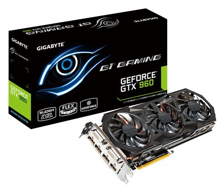 Review Gigabyte GeForce GTX 960 G1 Gaming