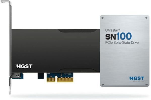 HGTS Ultrastar SN100 and SN150 - High NVMe PCI-E SSD-drives