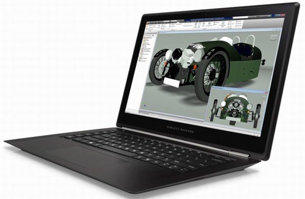 HP Omen Pro laptop with gaming design for professionals