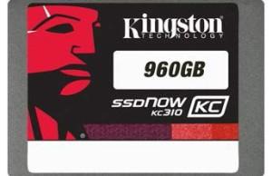Kingston starts shipping SSD KC310 960 GB