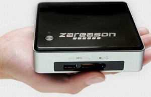 Linux-nettop ZaReason Zini 1550 runs on the Intel Broadwell