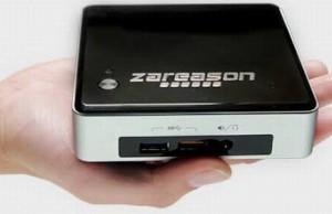 Linux-nettop ZaReason Zini 1550 runs on the Intel Broadwell