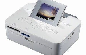 Printer Canon SELPHY CP1000 is designed for photo printing
