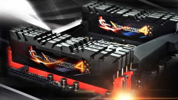 RAM G.Skill Ripjaws 4 is designed for hardcore gaming