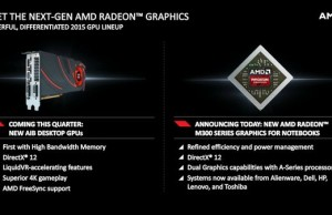 AMD has introduced a new mobile graphics Radeon M300