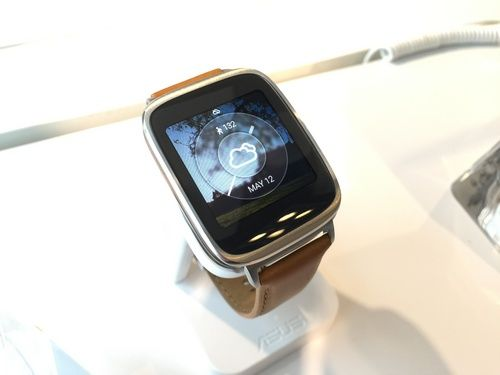 SmartWatches Asus ZenWatch next generation will be on sale at the beginning of the third quarter