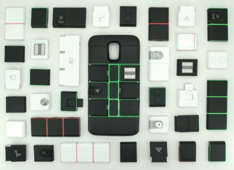 Case Nexpaq make of conventional modular smartphone