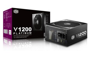 Review power supply Cooler Master V1200 Platinum