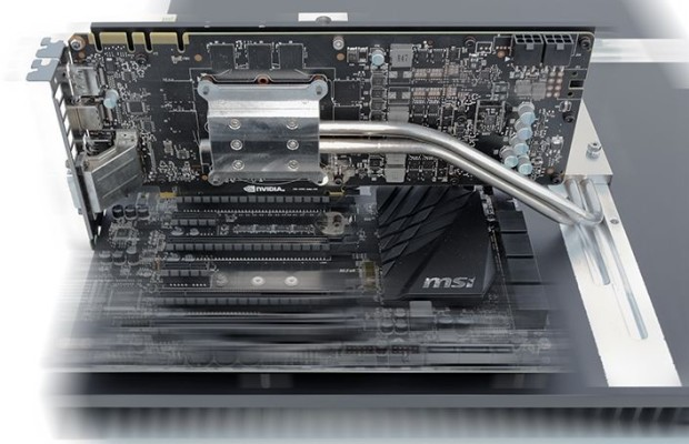 Computer with Core i7-5960X and GeForce GTX 980 is satisfied with passive cooling