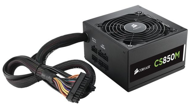 Review power supplies capacity of 850 watts: Corsair CS850M, Chieftec APS-850CB and InWin IP-P850BK3-3