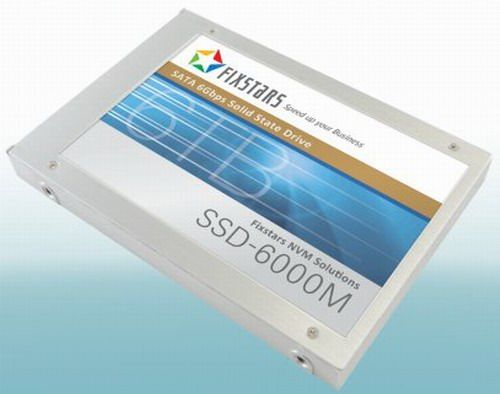SSD Fixstars SSD-6000M is designed for 6 terabytes of information
