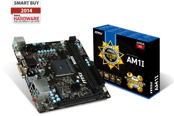 Review motherboard MSI AM1I