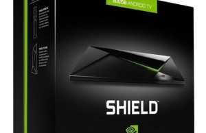 "The Network ""lit up"" Nvidia Shield Pro console with 500 GB of memory"