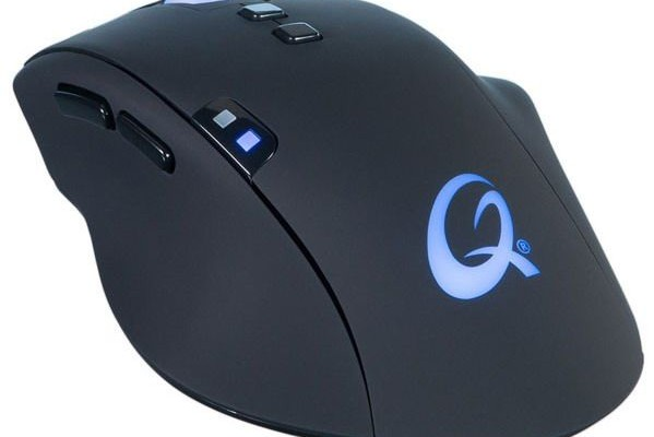 QPAD 8K Optical Mouse features an ergonomic design