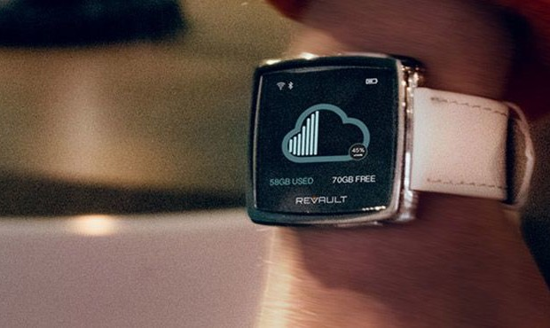 Smartwatches ReVault function as a wireless wearable file storage