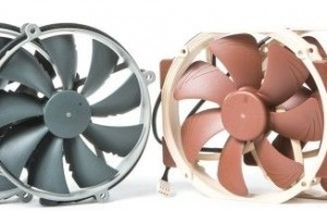 Review Noctua 140mm fans with a round frame